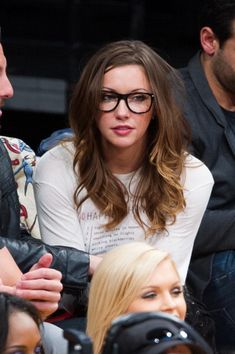 Celebrities At The Lakers Game - Katie Cassidy (March 8) - katie-cassidy Photo
