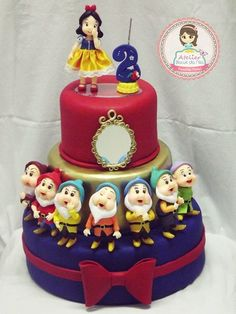 Birthday girl cake princess snow white 42 new ideas Gorgeous Cakes, Amazing Cakes, Snow White Cake, Snow White Birthday, Fake Cake, White Cakes, Disney Cakes, Birthday Cake Girls, Novelty Cakes