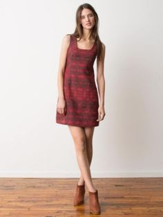 More adorable @Pendleton Woolen Mills Portland Collection #ecofashion BEARCHUM SHIFT