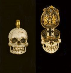 Odd jewelry from the 19th century, I believe or before.