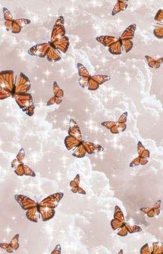 Wallpaper Pastel, Butterfly Wallpaper Iphone, Cute Patterns Wallpaper, Iphone Background Wallpaper, Iphone Wallpaper Glitter, Screen Wallpaper, Vogue Wallpaper, Pastel Iphone Wallpaper, Iphone Wallpaper Video