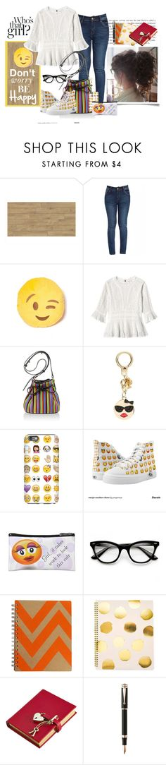 """""""Guipure Lace Top"""" by ljbminime ❤ liked on Polyvore featuring Rebecca Taylor, Les Petits Joueurs, Kate Spade, Sugar Paper, Graphic Image, Montegrappa, women's clothing, women's fashion, women and female"""