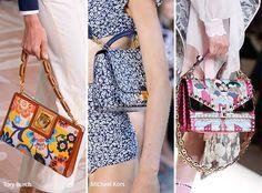 Spring/ Summer 2017 Handbag Trends: Floral Printed Bags/ Purses