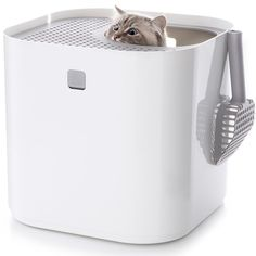 Modkat Litter Box with Scoop and Reusable Liner *** Learn more by visiting the image link. (This is an affiliate link and I receive a commission for the sales) #CatCare