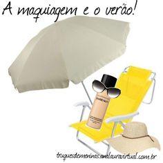 """""""Maquiagem e o verão"""" by truquesdemeninas on Polyvore"""
