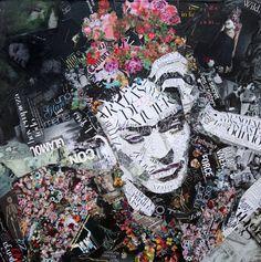 Newspaper Art Ines Kouidis, artist from Berlin... • typostrate