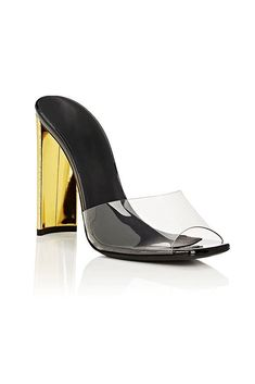 092ed2c8c97 Barely There Patent Leather PVC Mule