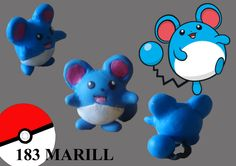 #pokemon #marill #fimo