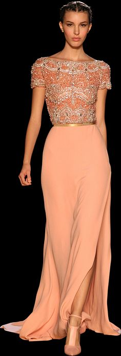 ELIE SAAB - Haute Couture - Fall Winter 2012-2013 http://www.wedding-dressuk.co.uk/prom-dresses-uk63_1
