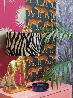 Animal Print Decor, Animal Print Bedroom, Animal Prints, Circus Decorations, Aesthetic Room Decor, Eclectic Decor, House Colors, Interior Inspiration, Diy Home Decor