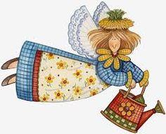 Resultado de imagen para angeles en patchwork
