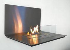 Biochimenea a telemando smart diseno LOFT acero inoxidable http://www.a-fireplace.com/es/biochimenea-etanol-loft/