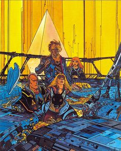 The Incal by Moebius