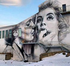 Street Art by Guido van Helten in Reykjavík