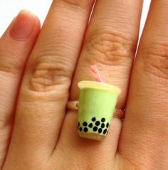 Boba Tea Ring?!? What is this madness and why hasn't my beloved proposed to me with it yet?!