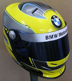 BMW Kart Helmet Design Ideas #144 ~ Hand Painted Helmets - Design your helmet today..!!