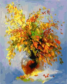 Buy Autumn still life, Oil painting by Olha Darchuk on Artfinder. Discover thousands of other original paintings, prints, sculptures and photography from independent artists. Abstract Canvas Art, Oil Painting Abstract, Artist Painting, Oil Painting Pictures, Art Pictures, Framed Pictures, Painting Videos, Art Floral, Bright Art