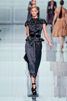 Dior Fall 2012 {via fashionista }