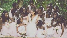 Adopts 13 Daughters Before Getting Married, Then Introduces Them To New 'dad' [Video]. - The Buddy New Fathers, New Dads, She Girl, The Girl Who, Homecoming Queen, Second Child, Single Women, Uganda, Year Old