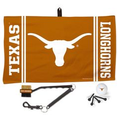 Texas Longhorns WinCraft Waffle Towel Golf Gift Set - $30.99