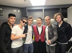The Wanted and Psy!