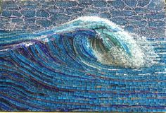 Mosaic - Stunning! - My Wave by mosaicdownunder/ Inge, via Flickr