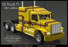US Truck T1 MkII (Yellow Version)