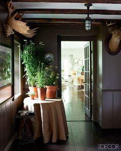 Hudson River Valley Home Renovations - Bill Burback and Peter Hofmann Hudson Valley Home - ELLE DECOR