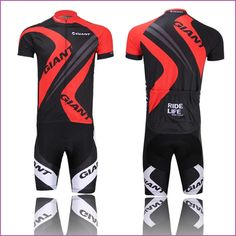 Cycling Bike Bicycle Team Clothing Jersey Shirts Short Pants Set