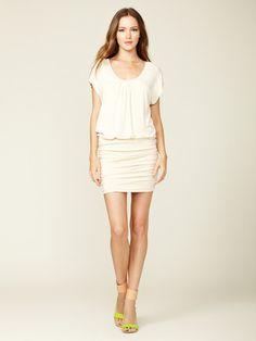 Akiko Knit Ruched Dress