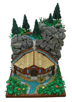~ Lego MOCs Fantasy ~ Beneath the Water | by 'Sergeant Chipmunk'
