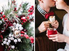 Wedding Inspiration: Зимняя свадьба от фотодуэта Postscriptum