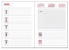 Descarga gratis una plantilla de agenda 2015-2016 en formato Indesign para que no se te olvide ningún aspecto de tus proyectos para el próximo curso.