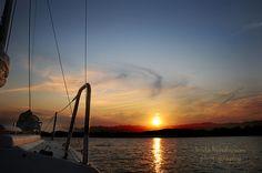 Evening Sailing (sunset) Conway, Ar