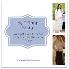 Fat Loss Workouts - My T-Tapp Story--Click through to read how I lost over 41 inches in my first months using T-Tapp!