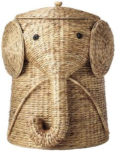 "Animal Hamper, 20""Hx16""Wx17""D, NATURAL Home Decorators Collection"