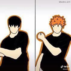 Haikyuu Kageyama, Haikyuu Funny, Haikyuu Fanart, Haikyuu Anime, Hinata, Cute Anime Guys, I Love Anime, Kagehina Cute, Applis Photo