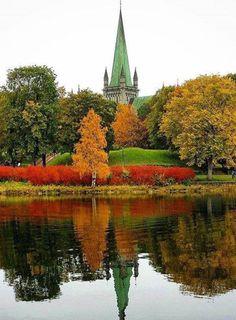 Trondheim #Norway #Nidarosdomen
