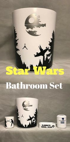Star Wars Bathroom Set - #starwars #bathroom #home