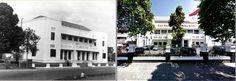 Vrijmetselaarsloge Adhuc Stat aan het Bisschopsplein te Batavia, ca 1930,., Gedung Bappenas, jl Taman Suropati, Jakarta, 2014