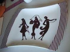 Résultats de recherche d'images pour «peinture sur porcelaine modele de dessin»