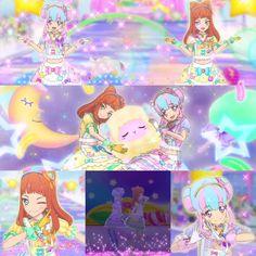 Aikatsu Stars! Ako & Kirara - the double muses of FuwaFuwa Dream