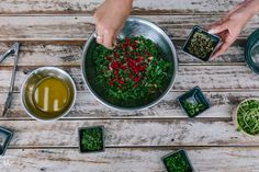 Sprout Wholefood's Kale and Goji Salad