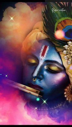 Radha Krishna Songs, Krishna Mantra, Krishna Flute, Radha Krishna Images, Lord Krishna Images, Radha Krishna Photo, Krishna Photos, Krishna Art, Radha Radha
