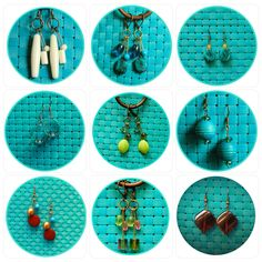 Checkout my handmade earrings on Etsy! Free Shipping with coupon code: FREESHIPPING  www.deliriousdezigns.etsy.com