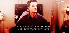 Friends | This is seriously me. It's why I love Chandler so much. He gets me.