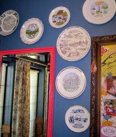 plate wall art (Pennsylvania Plates)