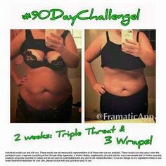 OMG look  at how awesome my customer's results are!!! These skinny wraps & supplements are seriously AMAZING!!! I need 10 ladies/gentlemen who would like to help me build up my 90 Day Challenge portfolio! You'll get my discount✂ on everything! That makes 4 wraps for $59 instead of $100 for 3 months!!! ❤️  Text me ASAP! Spots fill up quick!! 910-257-4039