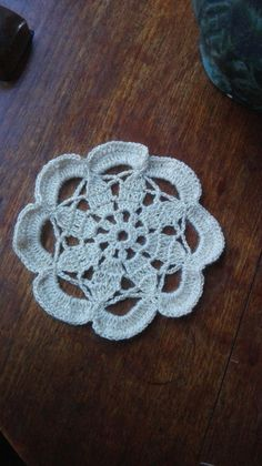 Doily in Creamy Sparkle