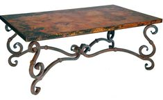 Stunning Copper and Wrought Iron Furniture by Prima